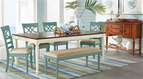 cindy crawford dining room sets cindy crawford home ocean grove white 5 pc rectangle