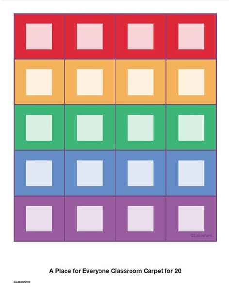 lakeshore classroom rugs seating chart for lakeshore s a place for everyone classroom carpet for 20 click on pin to edit