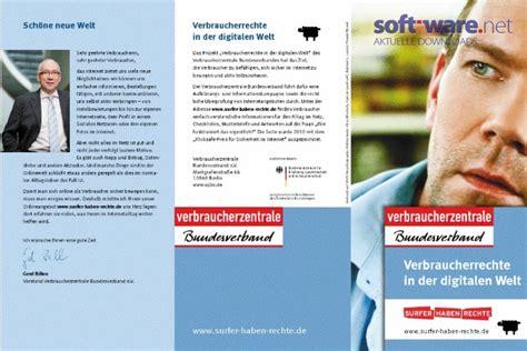Musterbrief Verbraucherzentrale Musterbrief Datenschutz Auskunft Und Widerruf Windows Bei Soft Ware Net