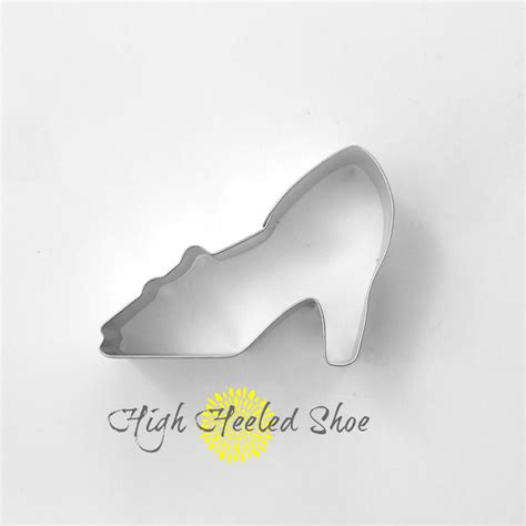 high heel shoe cookie cutter high heeled shoe cookie cutter glass by thebuttercuphouse
