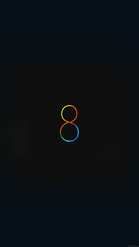 wallpaper black ios 8 ipad