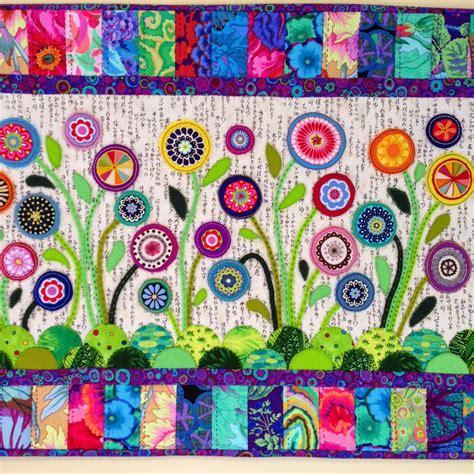 felt applique patterns wendy s quilts and more quilt festival flower