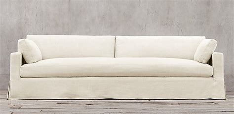restoration hardware slipcovered sofa sofa collections rh