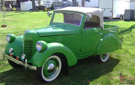 bantam car 1940 bantam convertible pickup