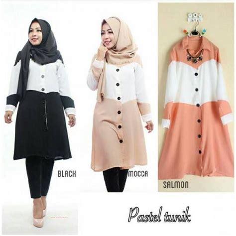 Dress Padmi Pastel Cantik Dan Murah Grosir Pakaian Pastel Tunik Grosir Baju Muslim