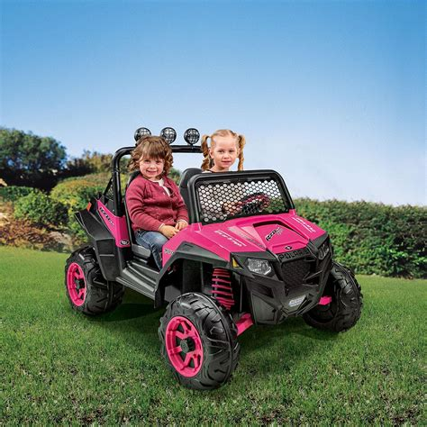 jeep power wheels for girls amazon com peg perego polaris rzr 900 ride on pink toys