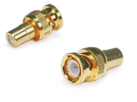 Rca To Connector coaxial rca to bnc connector gold plated was sold for r32 00 on 18 apr at 00 09