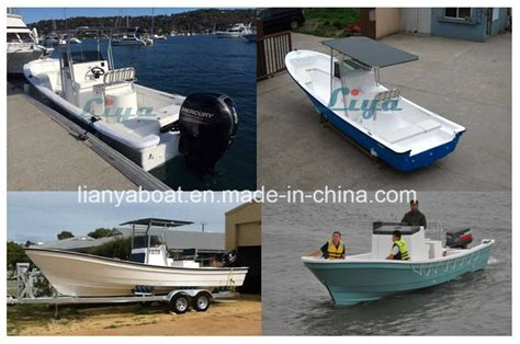 fishing boat length china liya 4 8m length fishing boat fiberglass hull boat