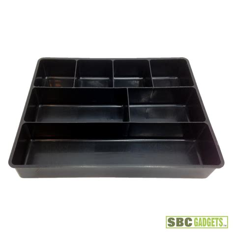 drawer organizer trays 7 compartment drawer organizer plastic storage box case