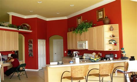 bright kitchen colors, Tuscan Kitchen Paint Colors Kitchen Paint Colors With Accent Wall
