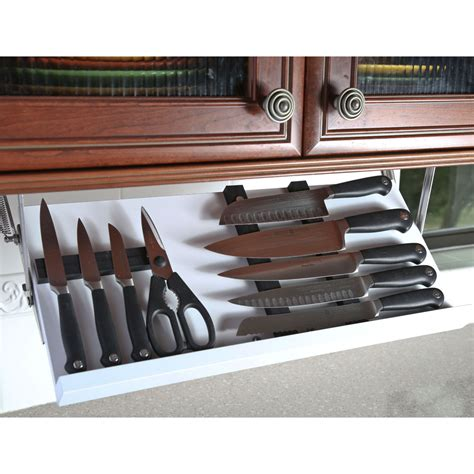 under cabinet knife block under cabinet knife storage best storage design 2017