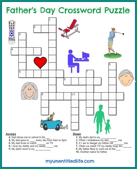 s day puzzle s day crossword puzzle a activity o r to