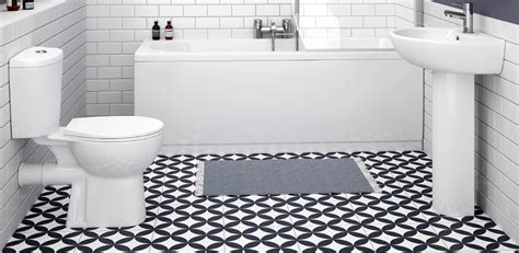 Patterned Bathroom Floor Tiles Uk by Creative Ways To Use Decorative Tiles Plumbing Bathroom