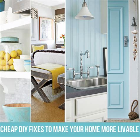 home renovation ideas on a budget cheap diy fixes to make your home more livable