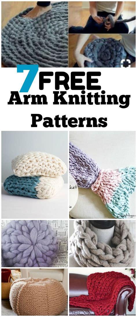 arm knitting patterns 25 unique arm knitting tutorial ideas on diy