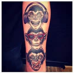 hear no evil see no evil amp speak no evil tattoo done at
