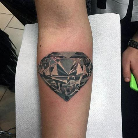 diamond tattoo guy 70 diamond tattoo designs for men precious stone ink