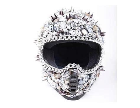 sick motocross helmets rhinestone studded helmet sick motorcycle pinterest