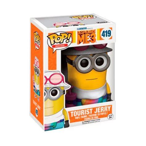 Pop Minions Tourist Jerry toys pop despicable me 3 minions tourist jerry funko funko pop