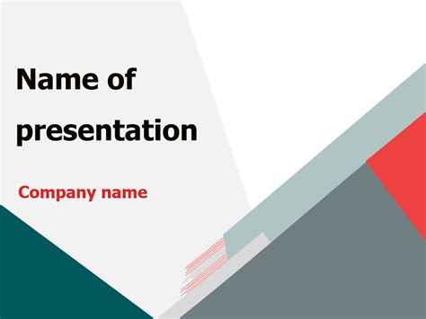 template of powerpoint presentation free triangular world powerpoint template for