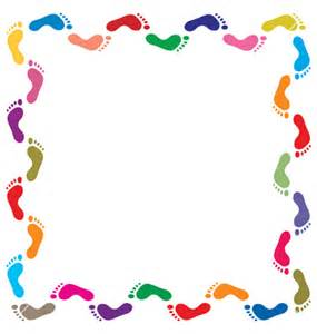 colorful page border flower page borders stars and
