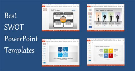 powerpoint templates best best swot powerpoint templates