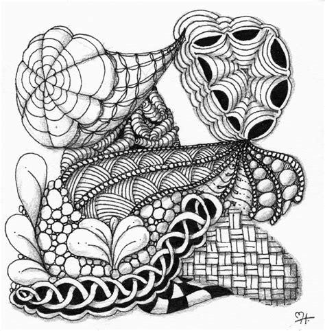 zentangle pattern dyon martaharveyart zentangle workshop week 5