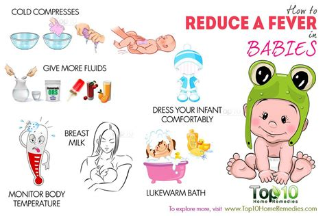 how to reduce a fever in babies top 10 home remedies