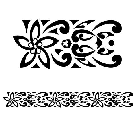 maori fiori turtles plumeria koru design 700x700 pixel i