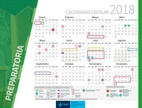 Calendario Buap 2017 Calendario Escolar 2018 Benem 233 Universidad Aut 243 Noma