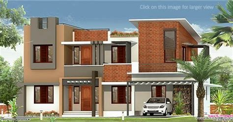 2226 sq ft house design with kerala house plans 2226 sq feet flat roof villa kerala home design and