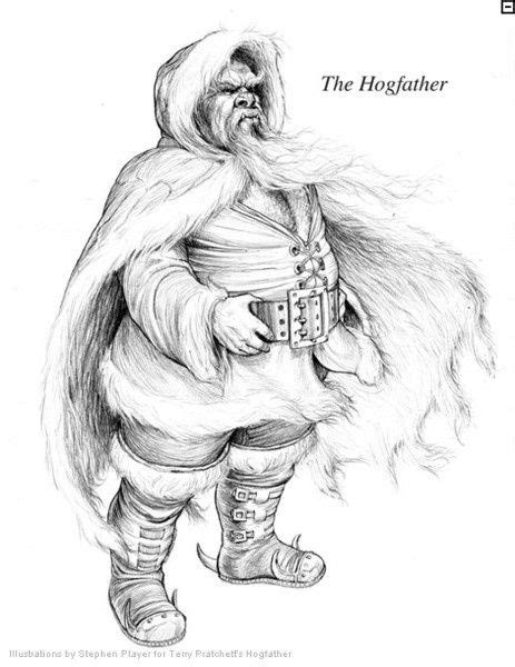 The Hogfather - Hogfather by Stephen Player. Sir Terry