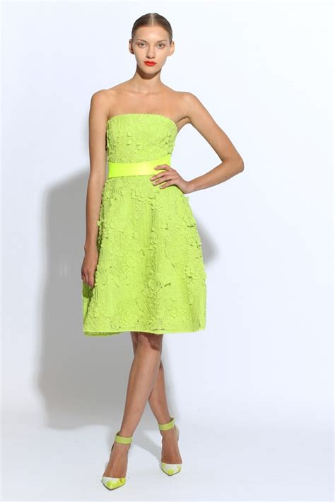 Bright Green Cocktail Dress - green bridesmaid dresses dressed up