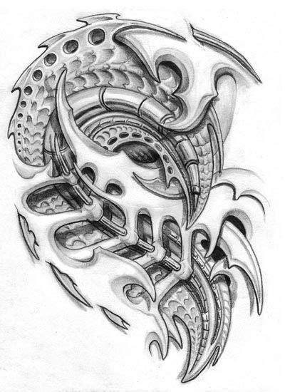 biomechanical tattoo vorlagen 95 besten tattoo biotech biomechanik biomech bilder auf