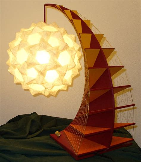 Origami Light - geometric origami ls folding light technabob