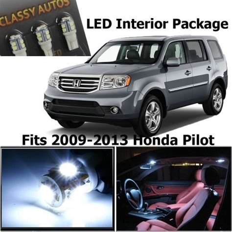 Classy Autos Honda PILOT White Interior LED Package (11