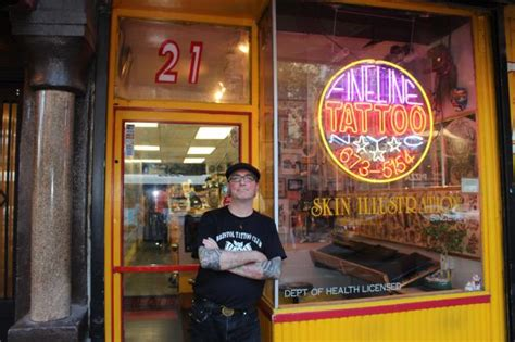 tattoo parlor nyc manhattan s oldest tattoo shop celebrates 40th anniversary