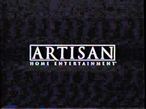 artisan home entertainment 2003 company logo vhs