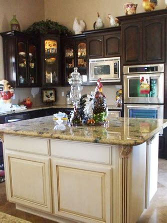 kitchen island different color than cabinets kitchens with two different color cabinets memes