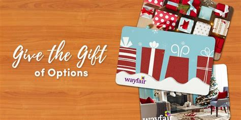 Wayfair Gift Card - the right way to give a gift card wayfair