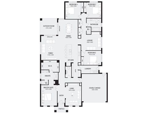 metricon floor plans lincoln 32 metricon homes floor plan pinterest home