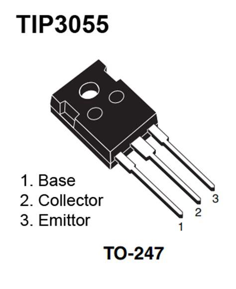 Transistor Tip2955 Dan Tip3055 Sepasang Asli dukun elektro rangkaian regulator power supply 12v 5a