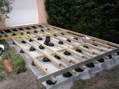 Brique Ciment Hornbach by Merveilleux Terrasse Bois Pilotis Plan 3 Terrasse En