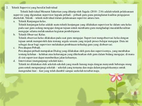 Supervisi Pembelajaran Dalam Profesi Pendidikan Syaiful Sagala supervisi pendidikan