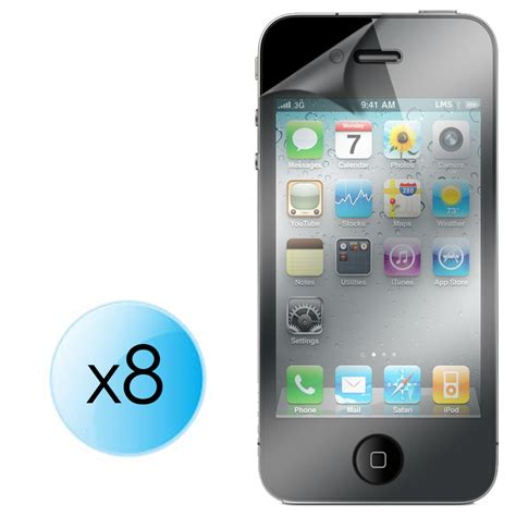 8 x lcd screen protector guard for apple iphone5 iphone 5 5g ebay