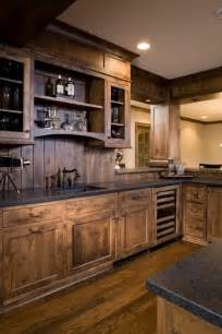 Rustic Kitchen Furniture by 27 Best Rustic Kitchen Cabinet Ideas And Designs For 2017