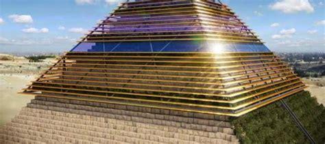 interno piramide di cheope sostenibilit 224 e storia l eco museo in cima alla piramide