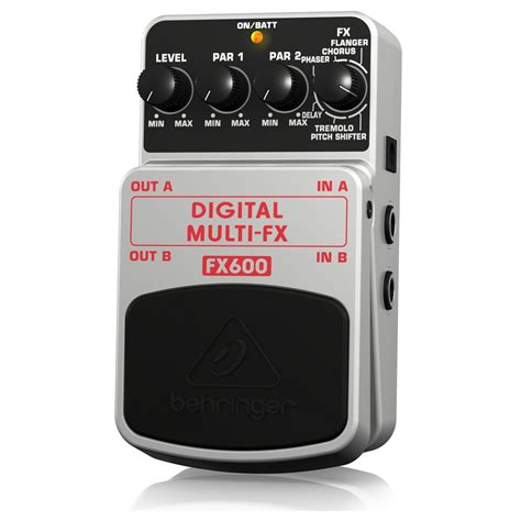 Multi Fx behringer fx600 digital multi fx pedal at gear4music