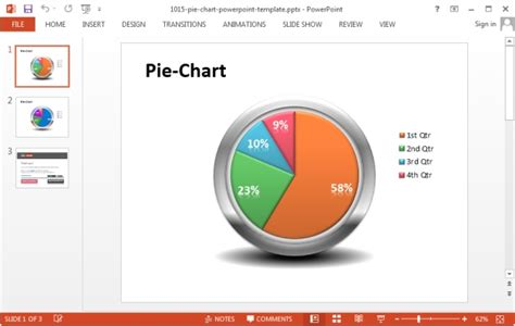 Best Powerpoint Templates With Charts And Graphs Powerpoint Chart Templates Free