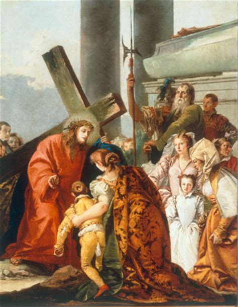 jesus comforts us tiepolo giovanni domenico christ comforts the sorrowful